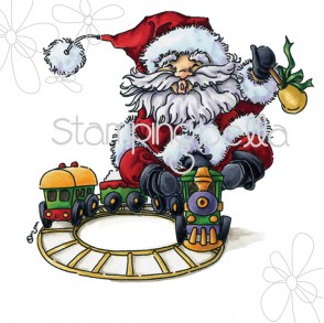 Santa Express by Mo Manning