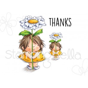 Daisy Squidgy rubber stamps (set of 3)