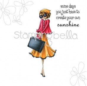 uptown girl SUNNY is STYLISH (includes sentiment)