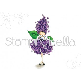 tiny townie GARDEN GIRL LILAC (includes 1 stamp)