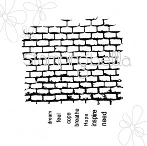 WALL WITH WORDS (includes 7 words)