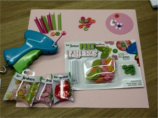 Kajinker, accessories and samples