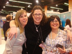 kim hughes (love her), me, and Julie Ebersole (Love her too)
