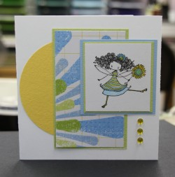 shelley's card  *waving hello*