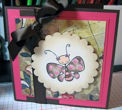 Janine Orchard used PAPILLON KETTO