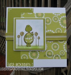 Lisa Mckinney used TURTLE TOTS- A FLOWER FOR YOU