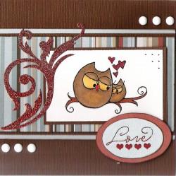 Margo Smith used CUDDLY OWLS
