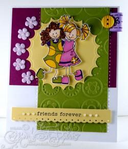 Monika Davis used BEST FRIENDS FOREVAH
