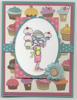 Jeanette Smith used ADDY 'TUDE is a CUPCAKE DIVA