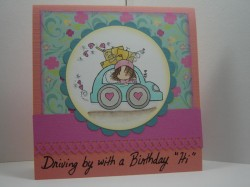 Lori Brown (aka PINKY DINKY DOO) used LOVE BEETLE HUGGABUGG