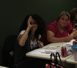 the lovely and talented SHERYL.. LOL and Galit WONDERING what Sheryl is up to!