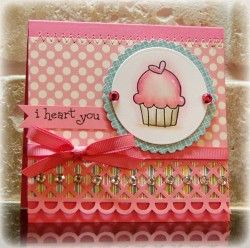 Megan Lock used HEARTY CUPPYCAKE