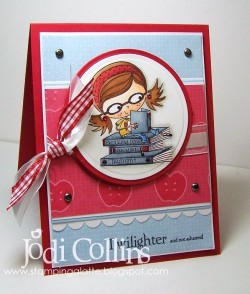 Jodi Collins used BETTY THE BOOKWORM