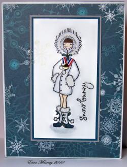 Erica Messervey used SNOWBUNNYBELLA