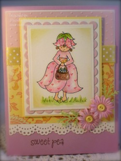 Tricia Traxler used BLUEBELL BITTYBLOOM