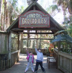 We visited Alligator farm which was AMAZING!