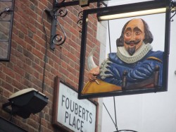 I liked the william shakespeare pub