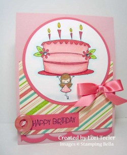 Lori T used LITTLE PEEP'S BIRTHDAY CAKE
