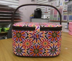 My new BIG sewing basket makes me HAPPY