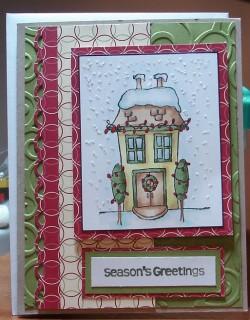 Lynn M. used SNOWY HOUSE