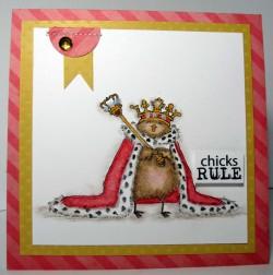 Regabella used CHICKS RULE