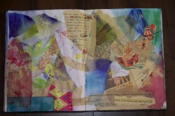 Here is Emily's page (9y0).. fantastic texture.. love the overlapping pieces.. this must have been a blast to make!