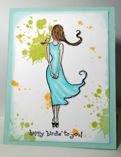 Regabella used LITTLE BIRDIE JANE and our SCRIBBLE and SPILL graffiti set