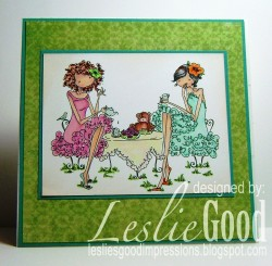 Here is Lesliebella's card