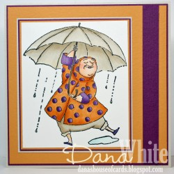 Danabella used SENIORITA BEVERLY loves the RAIN (check out her awesome sentiment too!)