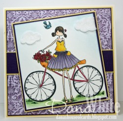 Danabella used UPTOWN GIRL FLORA and her Bicycle