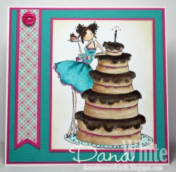 Danabella used UPTOWN GIRL BIANCA has a BIG CAKE