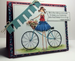 Tracybella used UPTOWN GIRL FLORA the CYCLIST