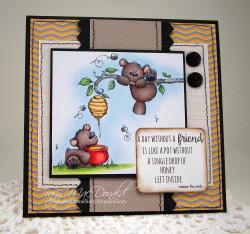 honeybearstuffiesTRACYMAC