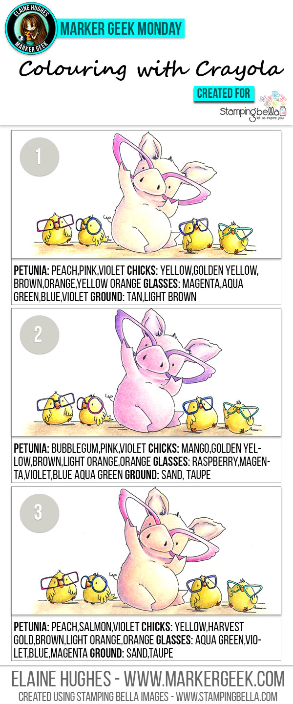 2016_stampingbella_marker_colouring_budget_crayola_pencils_petunia_pig_chicks_001