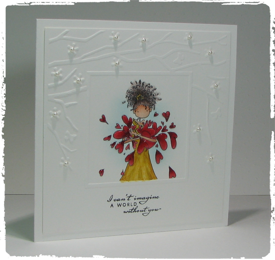 stamping bella BELLARIFIC FRIDAY challenge.  Click through to see the amazing ONE LAYER CARDS!
