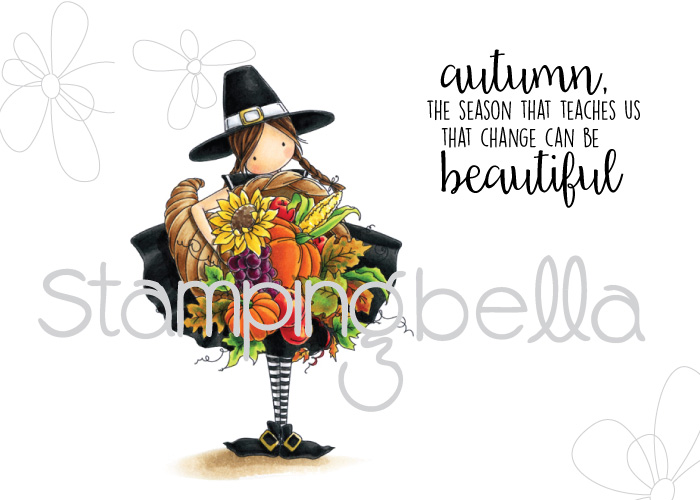 Stamping Bella HOLIDAY RELEASE -SNEAK PEEK DAY 2 -TINY TOWNIE CASEY HAS A CORNUCOPIA