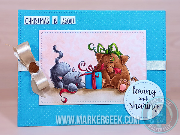 Stamping Bella HOLIDAY RELEASE -SNEAK PEEK DAY 3 -Christmas TUG OF WAR