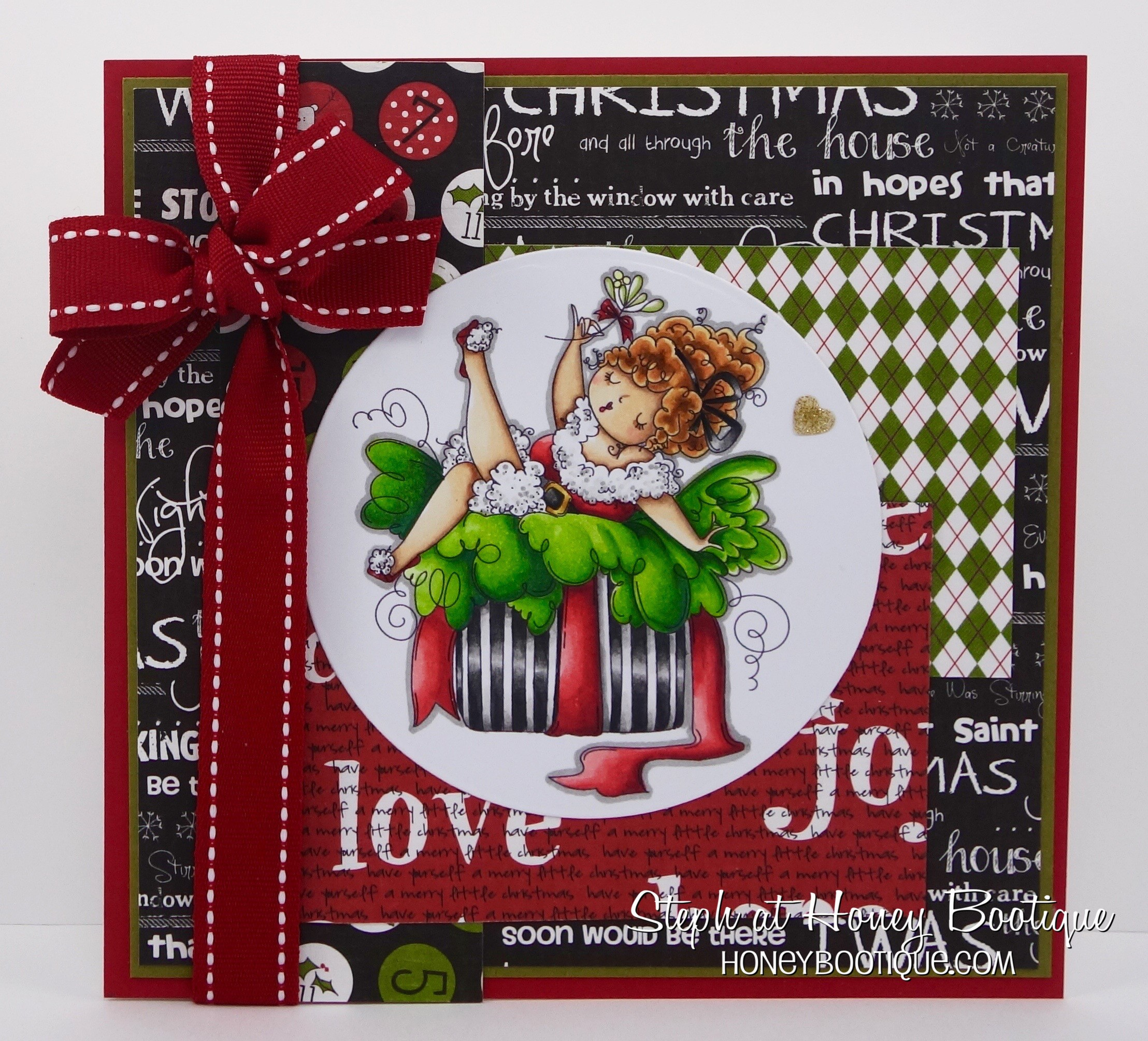 Stamping Bella HOLIDAY RELEASE -SNEAK PEEK DAY 3 -Edna under the Mistletoe