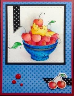 Cherry Chicks by Stamping Bella