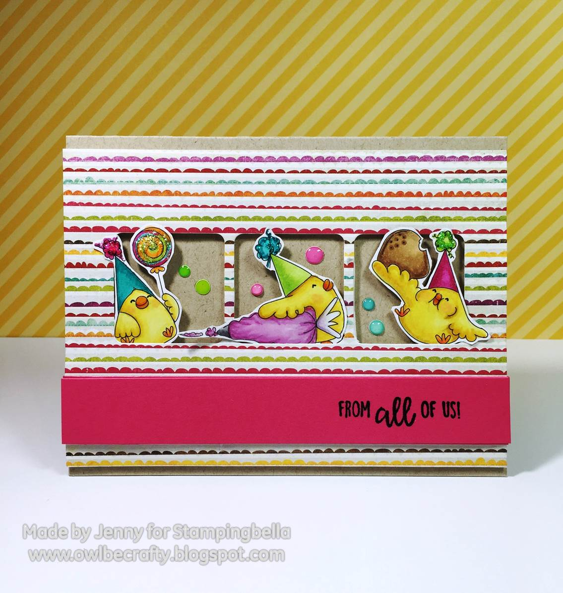 Stamping Bella HOLIDAY RELEASE -SNEAK PEEK DAY 2 -Gingerbread CHICKS