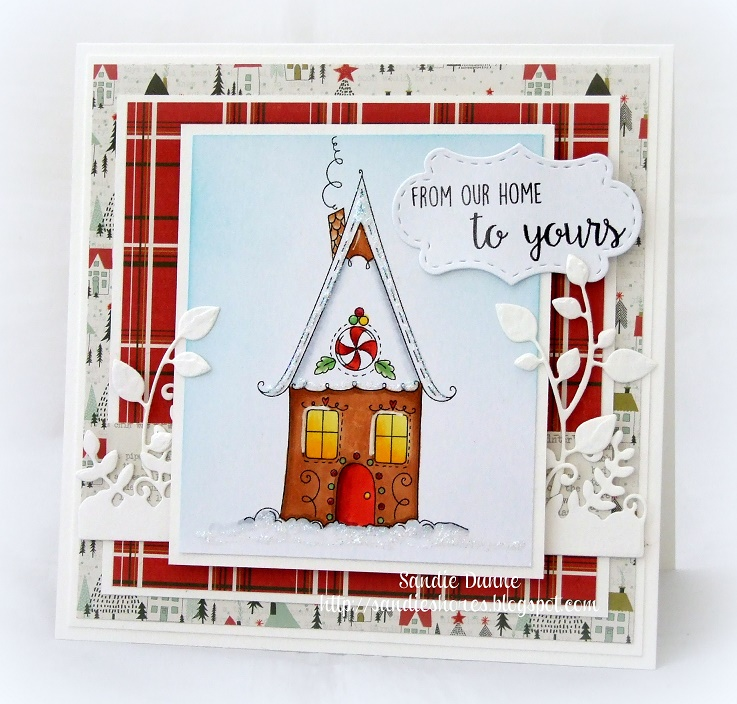 Stamping Bella HOLIDAY RELEASE -SNEAK PEEK DAY 2 -Gingerbread HOUSE