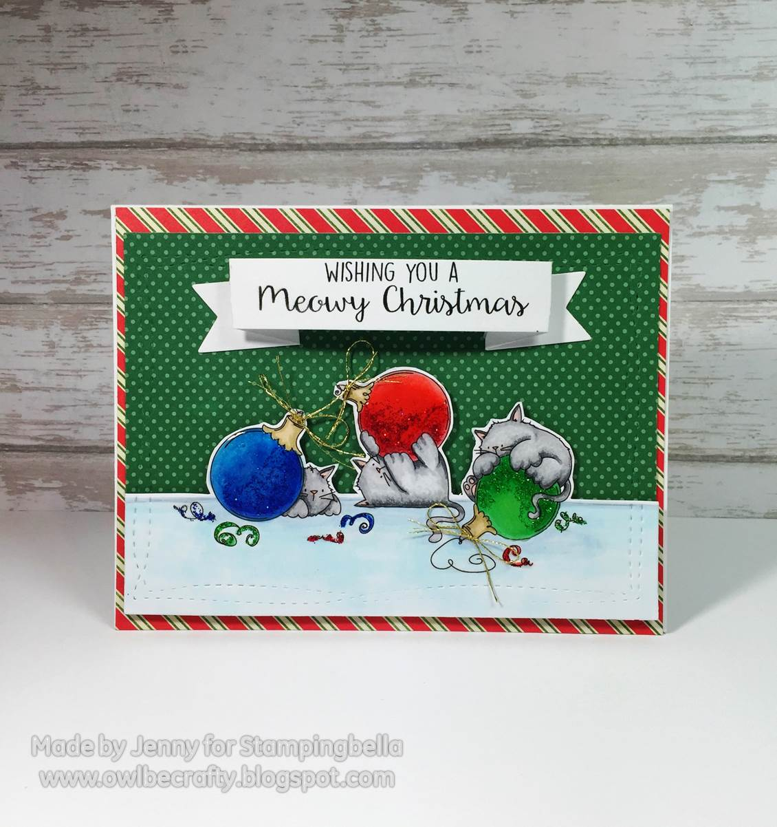 Stamping Bella HOLIDAY RELEASE -SNEAK PEEK DAY 3 -MEOWY CHRISTMAS