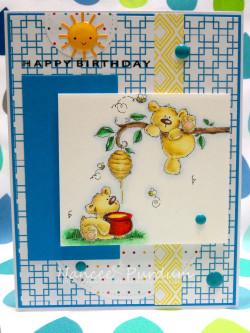 honeybear stuffies by Stamping Bella