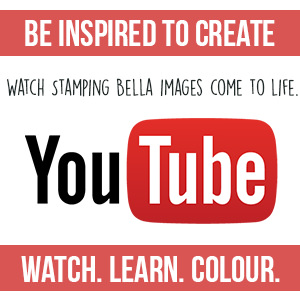 Watch Marker Geek Colouring Videos on YouTube to see Stamping Bella stamps come to life!