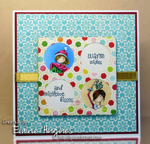 Spotlight On The Uptown Girls Rubber Stamps at Stamping Bella. Click through to read the post for card making inspiration!