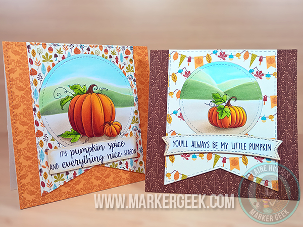 Stamping Bella - Set of Pumpkins stamp set. Click through for more info and inspiration!