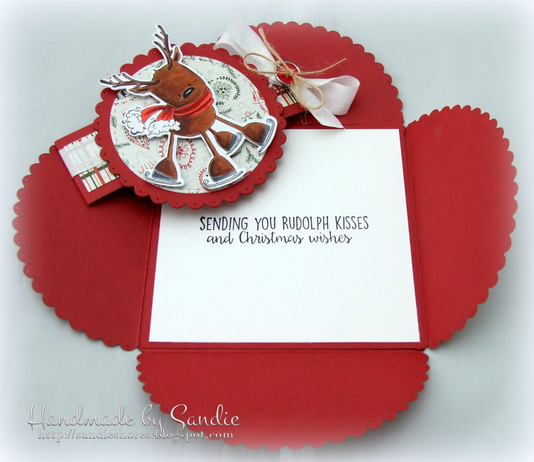 Stamping Bella - Sandiebella's Envelope Card. Click through for the full step by step tutorial!