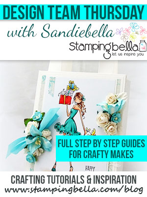 Click through to check out crafty step by step guides featuring Stamping Bella stamps!