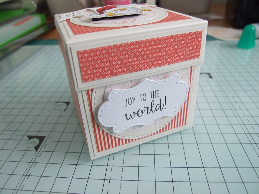 DT Thursday: Create a Fun Exploding Box Card with Stamping Bella. Click through for the complete step by step guide with photos!
