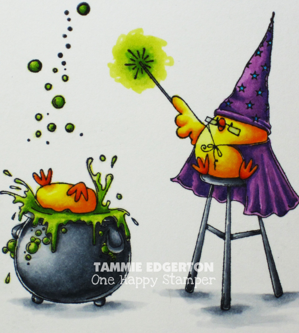 Wonderful Wednesdays With TAMABELLA- THe Wizard, The Witch and the CAULDRON CHICKS